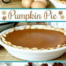 Libby's Famous Pumpkin Pies