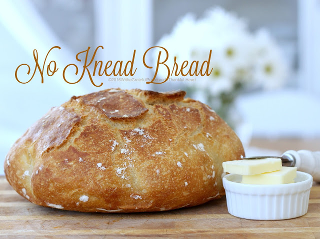 Make beautiful, No-Knead Artisan Bread with a great crusty exterior and wonderful crumb texture using just a handful of ingredients.