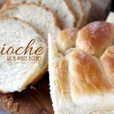 Brioche (Rich White Bread)