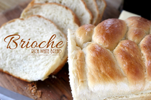 Brioche Rich White Bread
