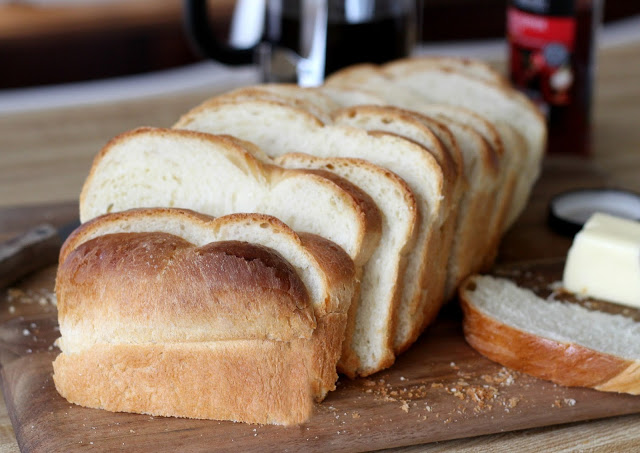 Make this beautiful braided Brioche Rich White Bread easily using a bread machine recipe to make the dough. Lovely French bread enriched with eggs and butter.