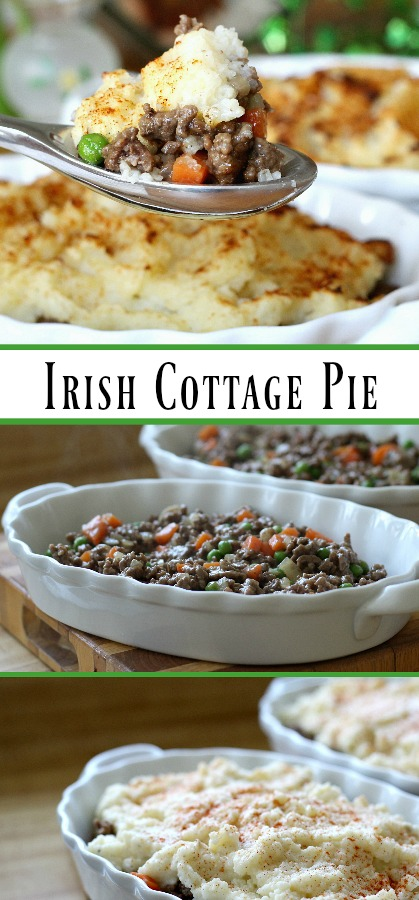 """Is it Cottage Pie or Shepherd's Pie? Did you know there is a difference between """"cottage pie"""" and """"shepherd's pie?"""" Shepherd's pie should only be named as such if it contains lamb, and """"cottage"""" usually applies to one made with beef. Whatever you call it, it is a delicious, budget meal."""