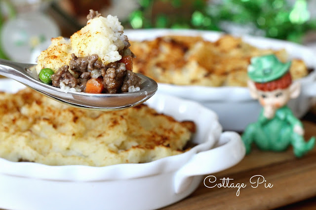 "Is it Cottage Pie or Shepherd's Pie? Did you know there is a difference between ""cottage pie"" and ""shepherd's pie?"" Shepherd's pie should only be named as such if it contains lamb, and ""cottage"" usually applies to one made with beef. Whatever you call it, it is a delicious, budget meal."