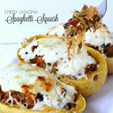Cheesy Lasagna Spaghetti Squash