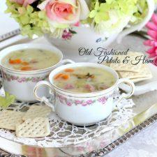 Potato and Ham Soup