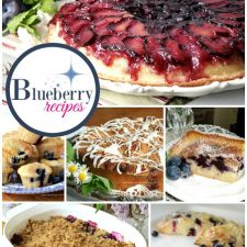 A Collection of recipes to use those yummy blueberries!