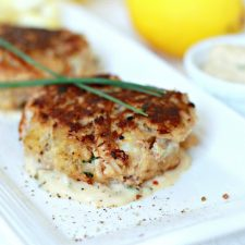Classic Crab Cakes & Hip Replacement Recuperation