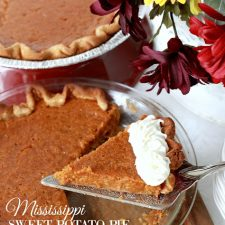 Mississippi Sweet Potato Pie