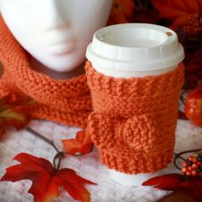 Knitted Beverage Cozy