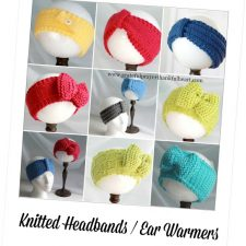 Knitted Headbands and Ear Warmers