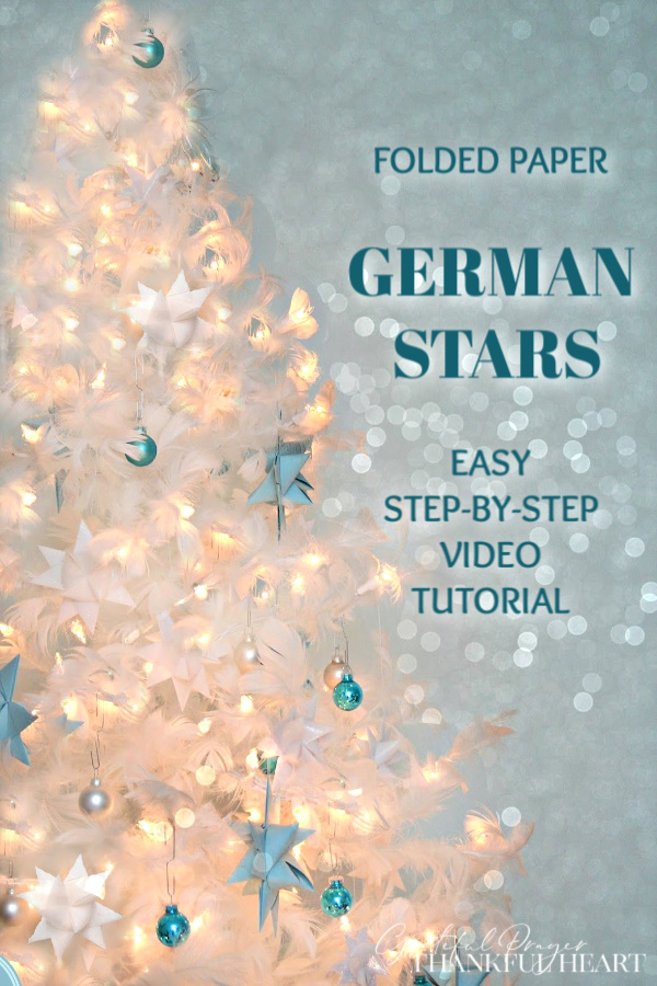 Do you remember folding strips of paper and creating German paper stars maybe with a grandparent? These beautiful 16-pointed stars, also called Froebel or Moravian stars are delightful as Christmas holiday ornaments and a fun DIY craft project for kids.