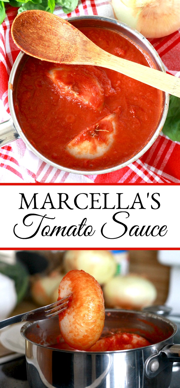 Marcella Hazan Tomato Sauce pasta is easy-on-the-cook and delicious. Make for a lovely date night meal.