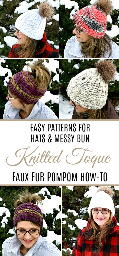 Attractive Toque Pattern Knit Sketch Sewing Ideas