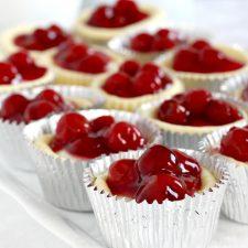 Cherry Cheese Cupcakes