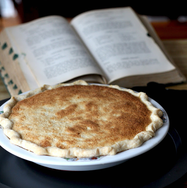 Recipe for Cottage Cheese Pie from grandmother's vintage cookbook, The New American Cook Book with over 4000 recipes, menu planning and entertaining tips.