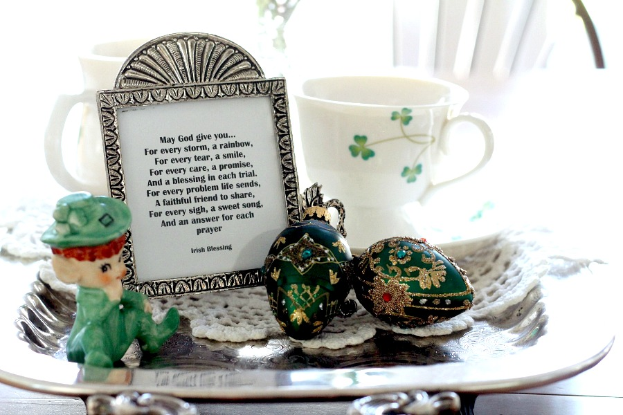 March. A month of swings from wintry chills and springtime thrills. Snow boots and flip-flops (well almost). It is the month we celebrate St. Patrick's Day and think of shamrocks, leprechauns, Irish food, all things green and Irish Blessings. Some are sweet, some are funny and some are... well, so Irish.