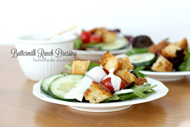 Buttermilk Ranch Dressing is a favorite with kids and adults. Full of amazing flavors bringing boring salads to life. Easy recipe for a fresh, bright taste.