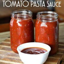 Slow Cooker Tomato Pasta Sauce