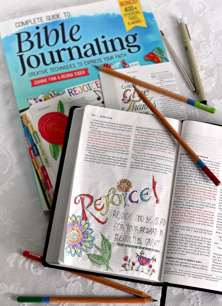 what is Bible Journaling? It is a means to use your own special creativity to remember and record meaningful and relevant Scripture and biblical concepts.