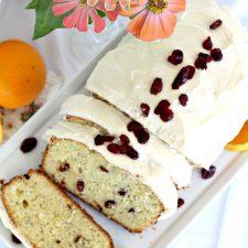 Orange Poppy Seed Tea Bread with Old Friends