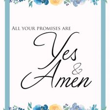 All Your Promises are Yes and Amem