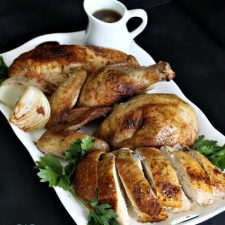 Slow Roasted Herb-Rubbed Whole Chicken
