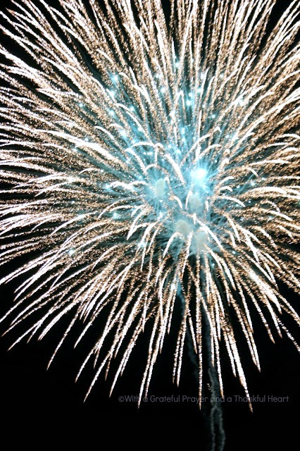 Picnicking, Cooking-out & CELEBRATING! Collection of favorite July 4th Foods including macaroni & potato salad, baked beans, deviled eggs & apple pie. Fireworks!