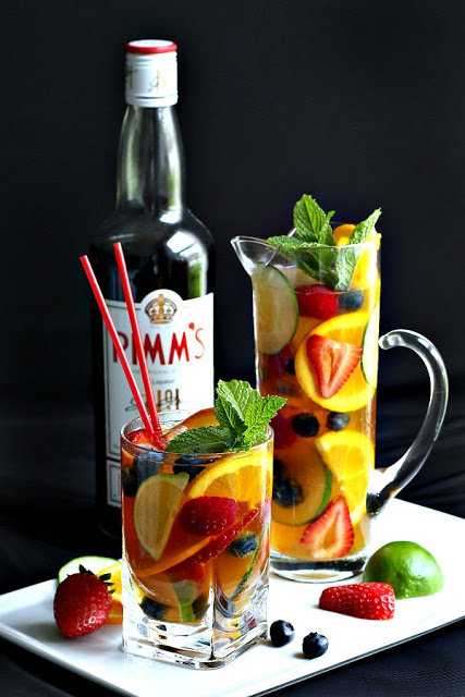 """You have to have a Pimm's Cup and toast me from London!"", we were told. During a recent trip we did and enjoyed this iconic drink of Britain."