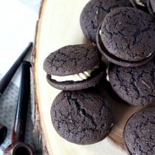Chocolate Espresso Whoopie Pies