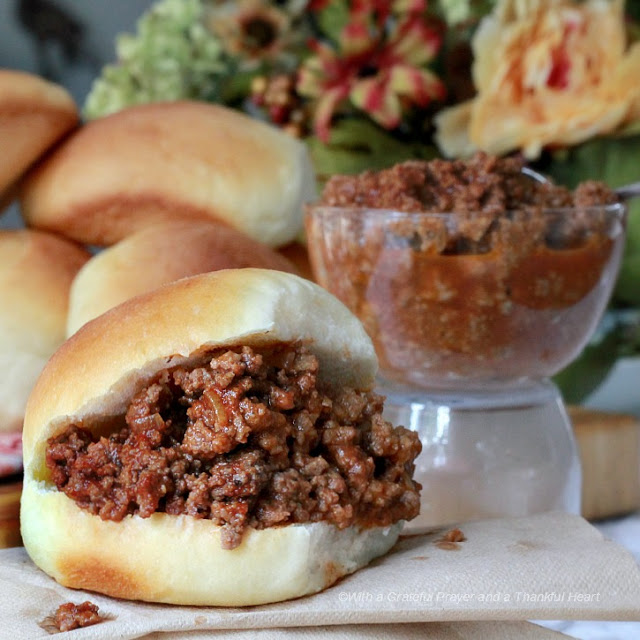 Picnicking, Cooking-out & CELEBRATING! Collection of favorite July 4th Foods including macaroni & potato salad, Sloppy Joes, deviled eggs & apple pie.