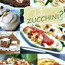Recipes using Garden Fresh Zucchini