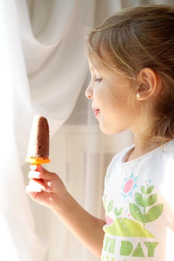 frozen chocolate peanut butter fudgesicles frozen pop