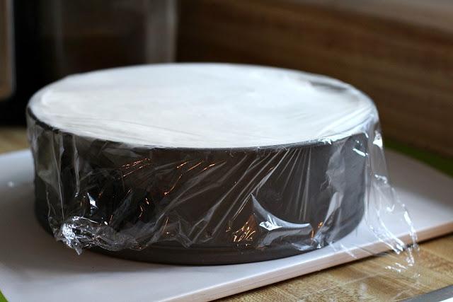 Homemade Ice Cream Cake With Oreo Bottom