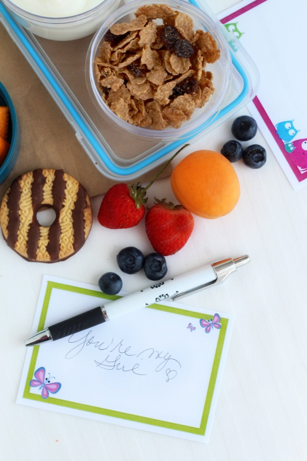 Encouraging and inspirational FREE printables for kids lunch box notes and cards