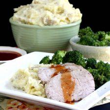 Pork Roast Sunday Dinner
