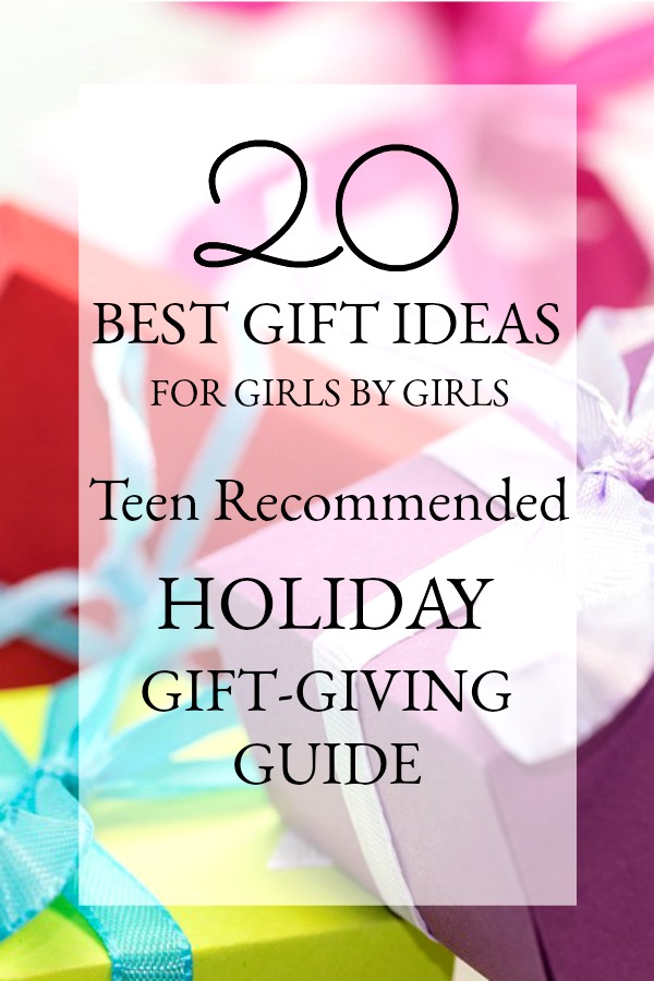 Ultimate Holiday Gift Guide for Teen girls chosen by 14 year old girls for Christmas or birthday presents. Here is their wish list!