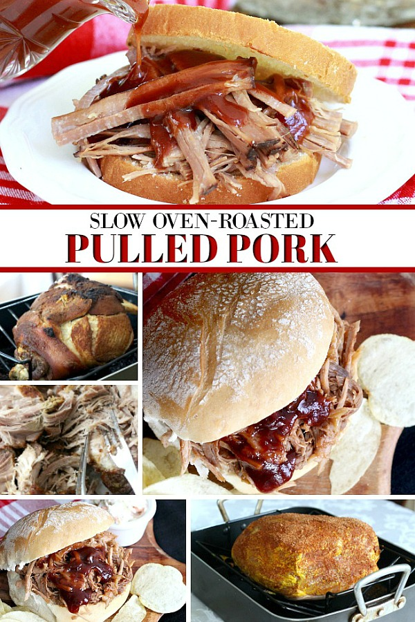 Bake up a tender, fall-off-the-bone pork shoulder easily with just a few ingredients. Shred and serve with your favorite barbecue sauce for amazing pulled pork sandwiches.