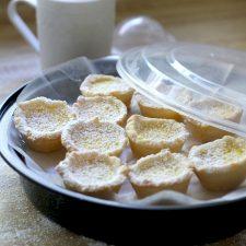 College Visit and Lemon Tartlets