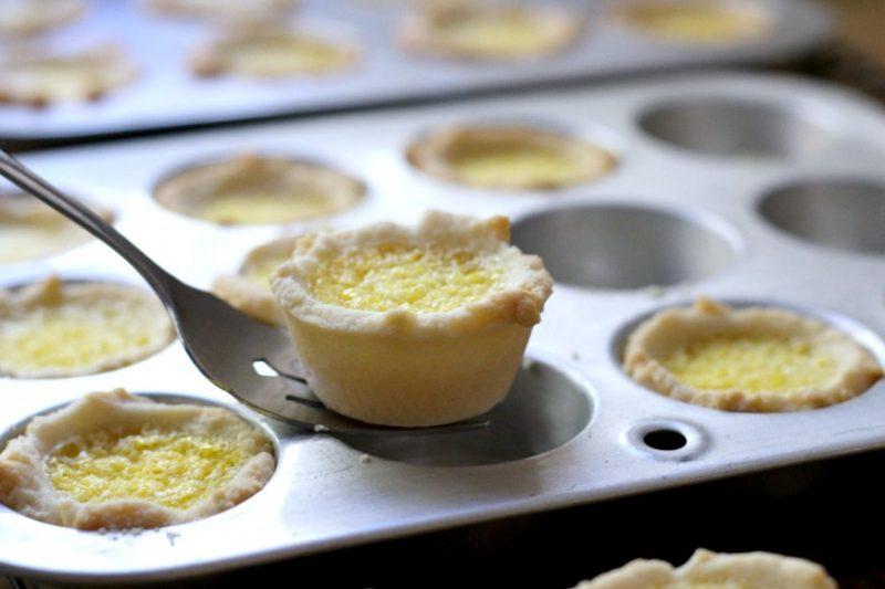 Lemon tartlets are tender little pie-like tartlets for every lemon lover! Easy how-to recipe for lemon tartlets with just the right amount of sweet and tart.