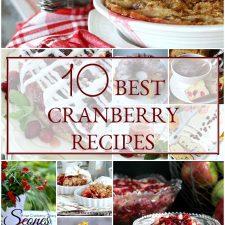 10 Best Cranberry Recipes