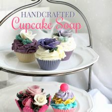 Handcrafted Cupcake Soap