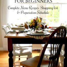 Thanksgiving for Beginners