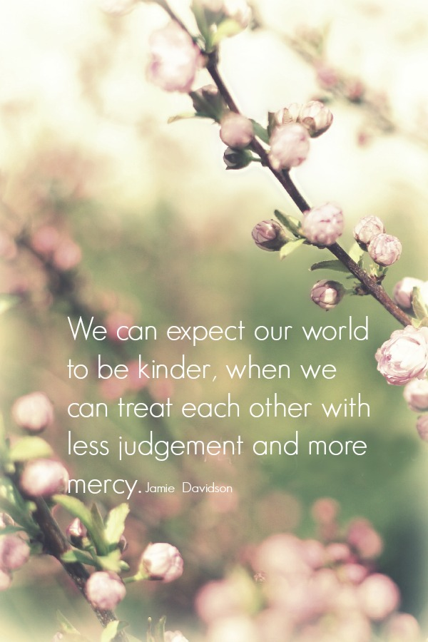 We can expect our world to be kinder, when we can treat each other with less judgement and more mercy. Don't Judge is from a mom of eight in PARTY of TEN series.