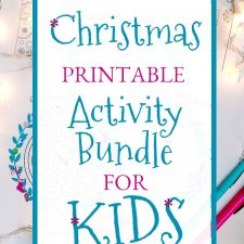 Christmas Printable Activity Bundle for Kids