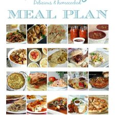 January Meal Planner