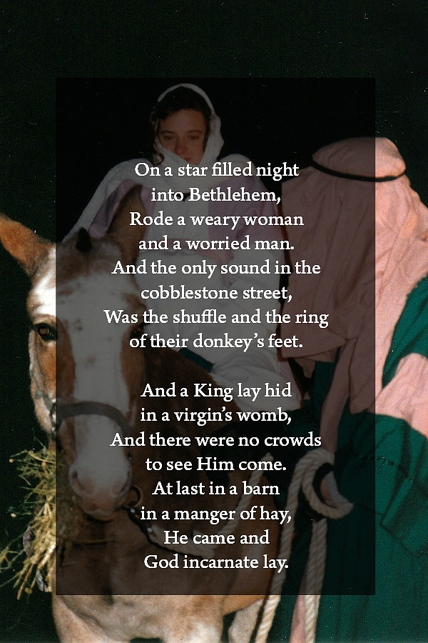 """How should a KING come? Even a child knows the answer of course… And the angels cried """"glory, glory to God"""". Beautiful song and words to celebrate the birth of a Savior."""