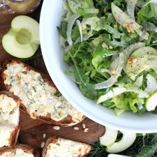 Arugula, Apple and Fennel Salad from Valerie Bertinelli's New Cook Book