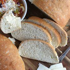 Parmesan Cracked Pepper Bread