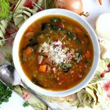Charleston Lowcountry Lentil Soup