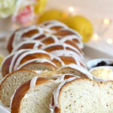 Braided Lemon Anise Bread